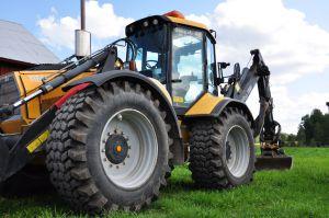 Traktorgrävare Huddig 1160D